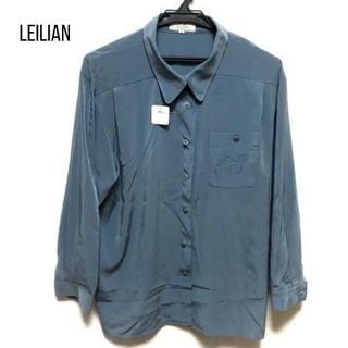 leilian - レリアン 長袖シャツブラウス サイズ9 M レディース新品同様
