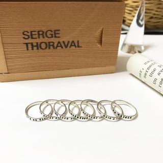 H.P.FRANCE - SERGE THORAVAL 7連リング Un baiser セルジュトラヴァル