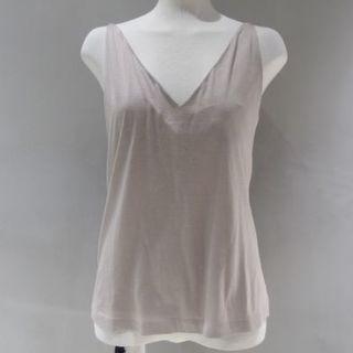マルタンマルジェラ(Maison Martin Margiela)の新品 メゾンマルジェラ タンクトップ カットソー Tシャツ XS(キャミソール)
