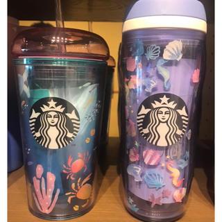 Starbucks Coffee - スターバックス タンブラーアクアリウム ボトルオーシャンアイコンズ355ml