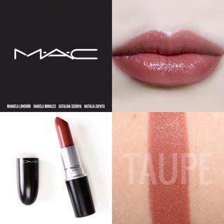 MAC - 【新品箱有】MAC マットリップ トープ 赤みシックブラウン