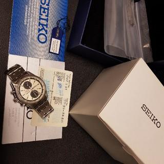 セイコー(SEIKO)の激レア!セイコークロノグラフ 腕時計 パンダ(腕時計(アナログ))