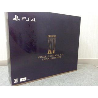 ソニー(SONY)の【限定品】PS4 本体 FINAL FANTASY XV コントローラー セット(家庭用ゲーム本体)