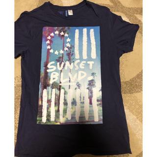 H&M - H&M 未使用 プリントTシャツ メンズM