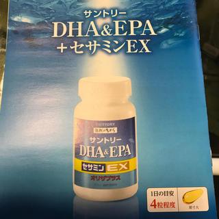 サントリー(サントリー)のサントリー DHA&EPA +セサミンEX 120粒(その他)