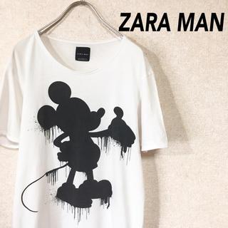 ZARA - ZARA ザラ ザラマン ミッキー 半袖 Tシャツ
