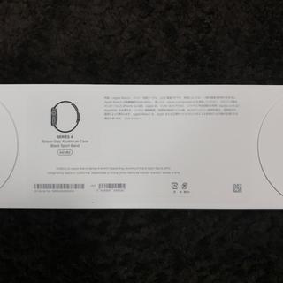 Apple Watch - Apple Watch SERIES4 44MM BLACK