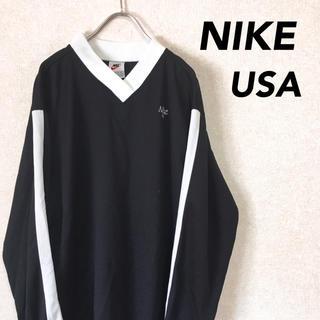 NIKE - NIKE ナイキ 長袖 Tシャツ USA製 トレーニングウェア