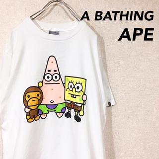 アベイシングエイプ(A BATHING APE)のA BATHING APE マイロ アベイシングエイプ 半袖 Tシャツ コラボT(Tシャツ/カットソー(半袖/袖なし))