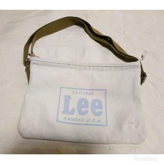 リー(Lee)のLee シンプル大人カジュアル コサッシュバッグ ショルダーバッグ ナチュラル(ショルダーバッグ)