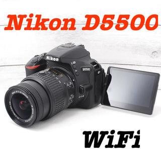 Nikon - ❤️Wi-Fi機能搭載❤️自撮りもOK❤️Nikon D5500