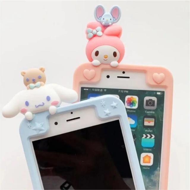 iPhone 7.8.X. XS. XRケース マイメロ  シナモンロールの通販 by m's shop|ラクマ