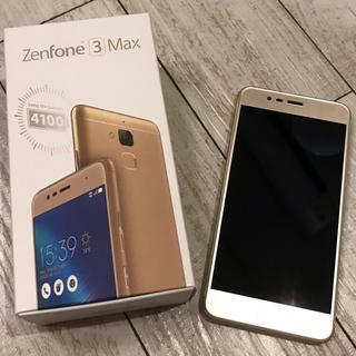 ASUS - Zenfone3max 本体