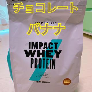 マイプロテイン(MYPROTEIN)のマイプロテイン  チョコレートバナナ 1kg(プロテイン)
