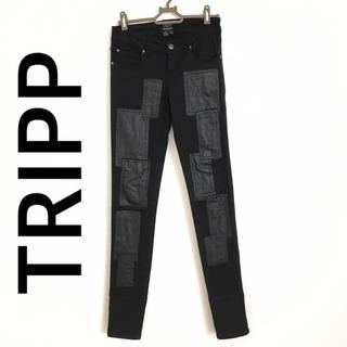 Tripp NYC - TRIPP フェイクレザー スキニーデニム