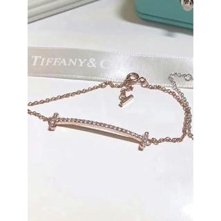 Tiffany & Co. - 【Tiffany&Co.】ティファニー Tスマイルブレスレット