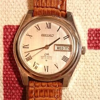 セイコー(SEIKO)のSEIKO ロードマチック自動巻き腕時計 シチズンオリエント好きな方へ(腕時計(アナログ))