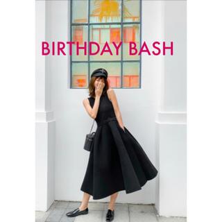 ZARA - birthday bash  クルーネックバルーンドレス