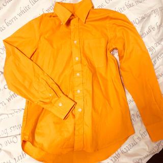 オレンジ ワイシャツ(シャツ)