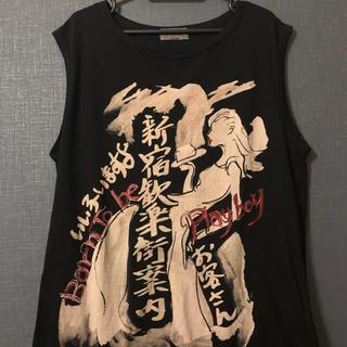 ヨウジヤマモト(Yohji Yamamoto)のyohji yamamoto 18SS 新宿歓楽街案内 (Tシャツ/カットソー(半袖/袖なし))