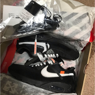 NIKE - NIKE AIR MAX 90 THE10  off-white