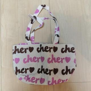 シェル(Cher)の新品送料込!cher シェル キルティング トートバッグ(エコバッグ)