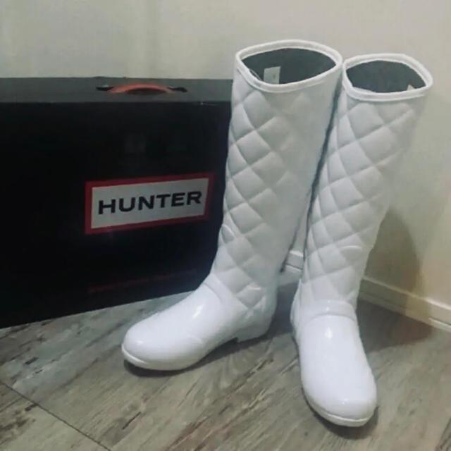 HUNTER(ハンター)のHUNTER/美品♡型押しレインブーツ レディースの靴/シューズ(レインブーツ/長靴)の商品写真