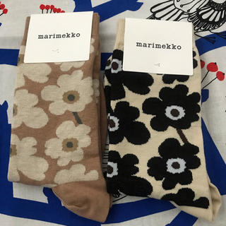 marimekko - 二足セット 新品 マリメッコ   靴下
