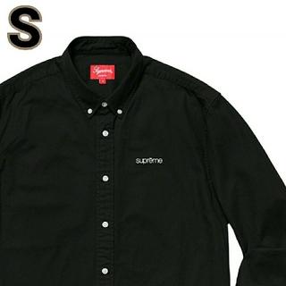 Supreme - 新品!シュプリーム supreme Washed Twill Shirt 黒 S