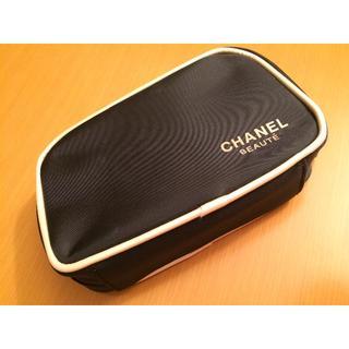 シャネル(CHANEL)のシャネルコスメポーチマチあり口が広く出し入れしやすい(その他)