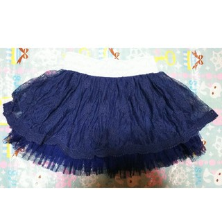 リズリサ(LIZ LISA)のLizmero♥️パンツ付きチュールスカート120(スカート)