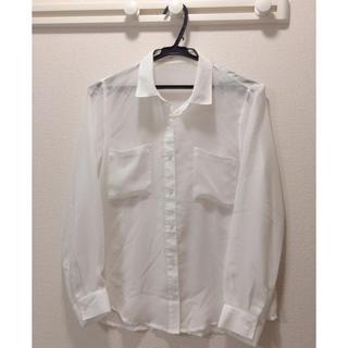 ジーユー(GU)のGU★ジーユー★シャツ★白(シャツ/ブラウス(長袖/七分))