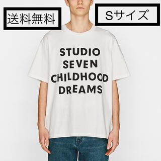 ジーユー(GU)のヘビーウェイトビッグT(半袖)GU×STUDIO SEVEN 新品 ホワイト S(Tシャツ/カットソー(半袖/袖なし))