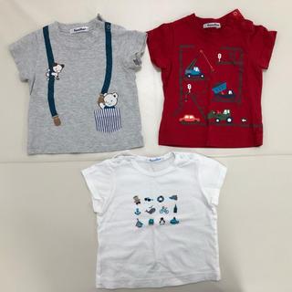 familiar - familiar ファミリア Tシャツ 3枚