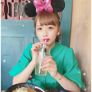 Lily Brown - Lily brown♡ボリューム袖 コットン ワンピース