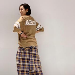 AMERICANA - AP STUDIO別注 Americana フットボールTシャツ