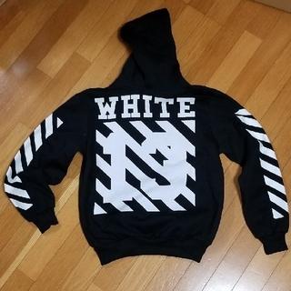 オフホワイト(OFF-WHITE)のOFF-WHITE 風パーカー(パーカー)