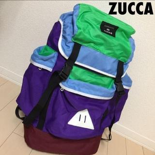 ズッカ(ZUCCa)の#714 レア ズッカ zucca カラフル バックパック リュック(バッグパック/リュック)