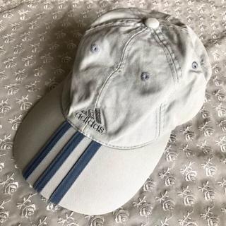 アディダス(adidas)の【adidas】キッズ アディダス 帽子 キャップ ★ グレー カーキ 刺しゅう(帽子)