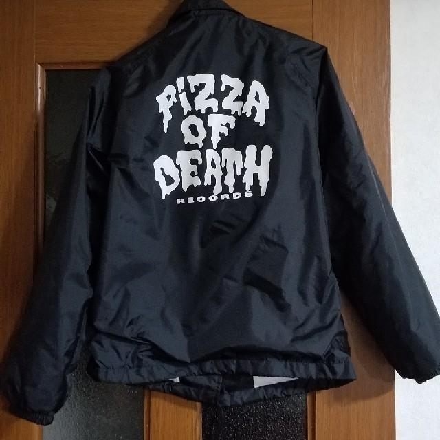 HIGH!STANDARD(ハイスタンダード)のピザオブデス コーチジャケット pizza of death  メンズのジャケット/アウター(ナイロンジャケット)の商品写真