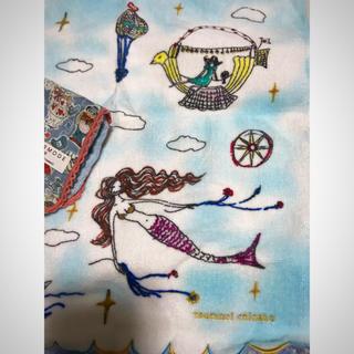 ツモリチサト(TSUMORI CHISATO)のツモリチサト 新品 撮影開封 スイスイスカイ タオル小 おまけ アリス リバティ(タオル/バス用品)