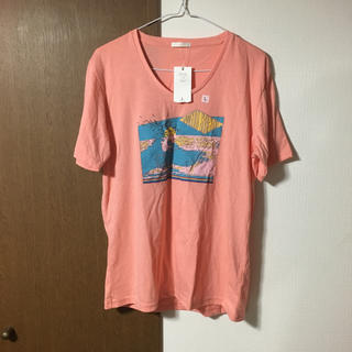 ジーユー(GU)の新品タグ付き Tシャツ(Tシャツ/カットソー(半袖/袖なし))
