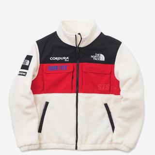 Supreme - NORTH FACE expedition fleece jacket