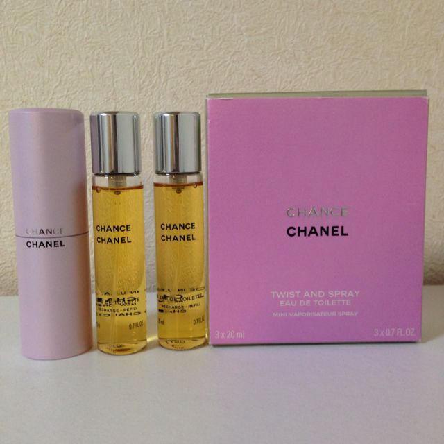4561a4060cc4 CHANEL - CHANCE香水 20ml 3本セットの通販 by yukino's shop|シャネル ...