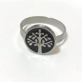 同時購入で300円 ステンレス指輪 tree(リング(指輪))