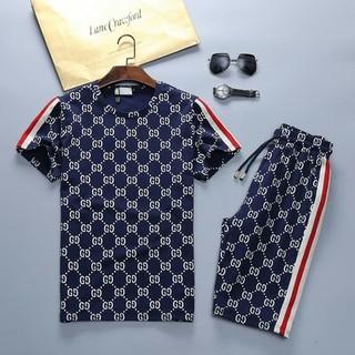 Gucci - 人気 グッチGUCCI ジャージ上下セット 半袖  Tシャツ