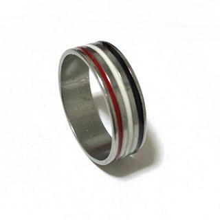 同時購入で300円 ステンレス指輪 三色(リング(指輪))