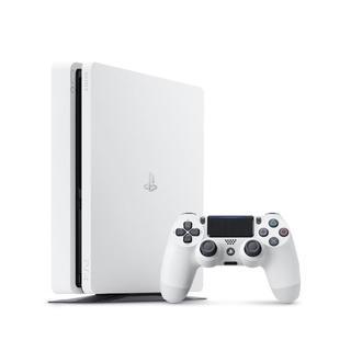 ソニー(SONY)の【新品】PlayStation4 グレイシャー・ホワイト 500GB(家庭用ゲーム本体)