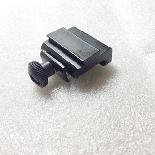 メタル製 マウント 幅 変換 20→11mm 高さアップ13mm ベースマウント