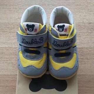 DOUBLE.B - ミキハウス ダブルB シューズ 靴 12.0 ファーストシューズ